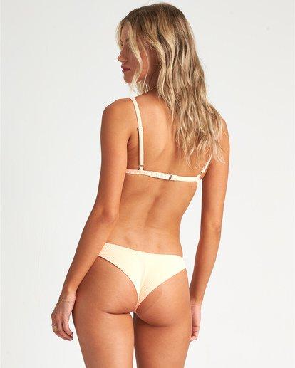 3 Under The Sun Tri - strukturiertes Triangel-Bikinitop für Damen Rosa S3ST31BIP0 Billabong