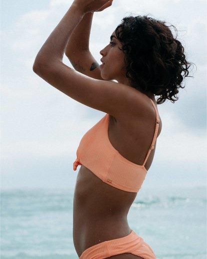 0 Under The Sun - kurzes, geripptes Bikini-Tanktop für Damen Rosa S3ST32BIP0 Billabong