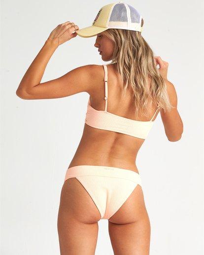 3 Under The Sun - kurzes, geripptes Bikini-Tanktop für Damen Rosa S3ST32BIP0 Billabong