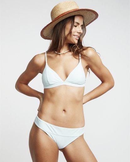 1 Rolling By Bnd Tri - strukturiertes Triangel Bikinitop für Damen Blau S3ST45BIP0 Billabong