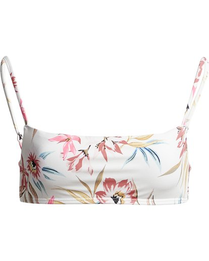 3 Coral Sands Bralette - Top de bikini bralette floreado para Mujer Blanco S3ST48BIP0 Billabong