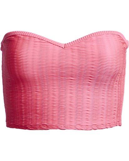 3 Wave Trip Tube - Top de bikini para Mujer Rosa S3ST52BIP0 Billabong