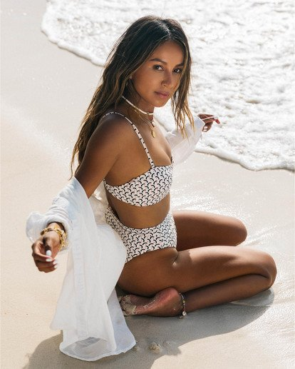 0 Sweet Siesta Bandeau - Bandeau Bikinitop für Damen Weiss S3ST65BIP0 Billabong