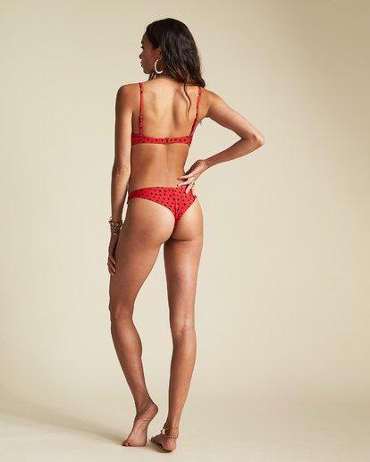 2 Rio Rain Bralette - Bralette Bikini Top for Women Red S3ST67BIP0 Billabong