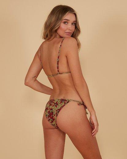 2 Sunbaked - Elongated Tri Bikini Top for Women Red S3ST73BIMU Billabong
