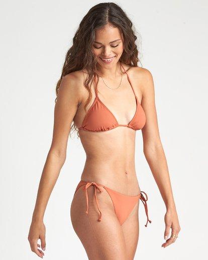 3 Sol Searcher - Top de bikini triangular para Mujer Marron S3ST85BIMU Billabong