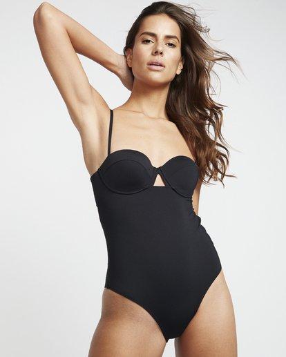 1 S.S Underwire - Top de bikini para Mujer Negro S3SW07BIP0 Billabong