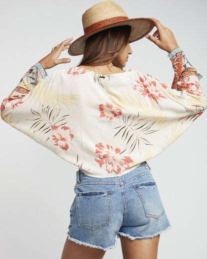 2 Back Round - Printed Blouse for Women Multicolor S3TP04BIP0 Billabong