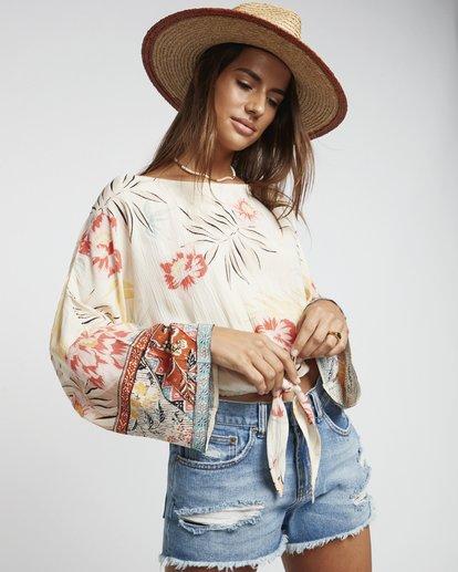 1 Back Round - Blusa estampada para Mujer Multicolor S3TP04BIP0 Billabong