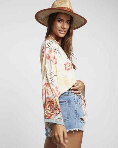 3 Back Round - Blusa estampada para Mujer Multicolor S3TP04BIP0 Billabong