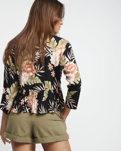 1 Take Me On - bedruckte Bluse für Damen Schwarz S3TP14BIP0 Billabong