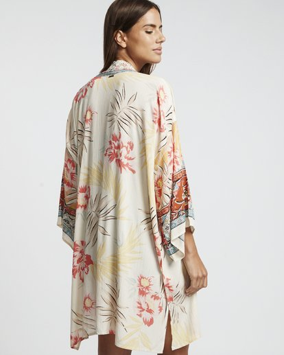 4 Fire Nights - Kimono corto para Mujer Multicolor S3TP17BIP0 Billabong