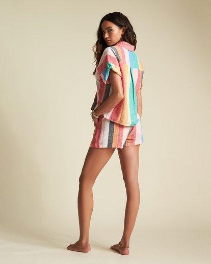 6 Santorini Dreams - Camisa a rayas para Mujer  S3TP22BIP0 Billabong
