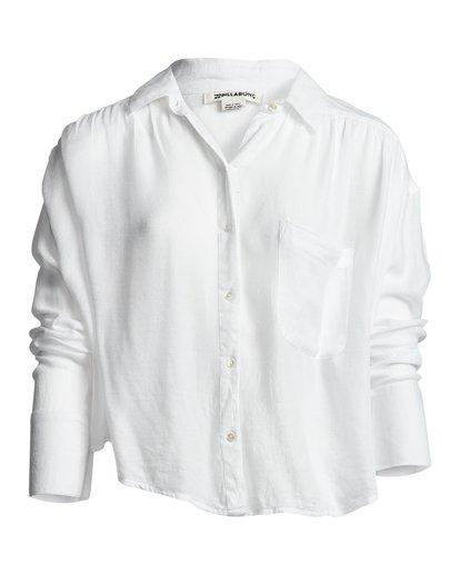 2 Sweet Moves - Long Sleeve Shirt for Women White S3TP23BIP0 Billabong