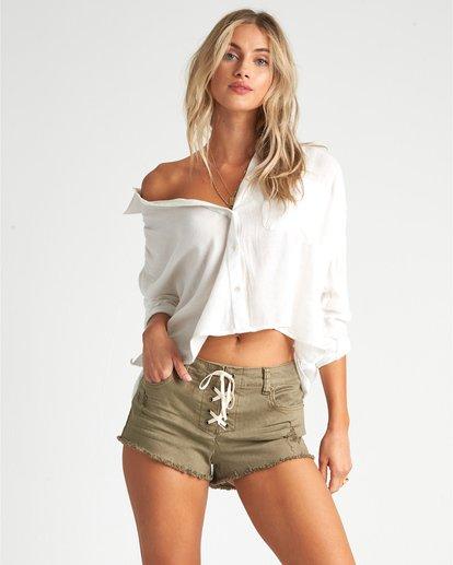 1 Sweet Moves - Long Sleeve Shirt for Women White S3TP23BIP0 Billabong