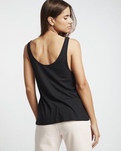 2 Legacy New Scoop - T-Shirt für Damen Schwarz S3TT02BIP0 Billabong