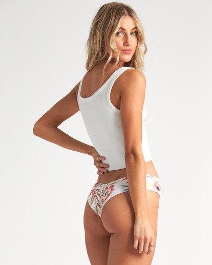 2 Cut Off - Camiseta de tirantes cortita para Mujer Blanco S3TT06BIP0 Billabong