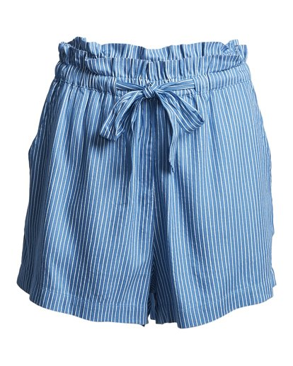 4 Sliding Rock - High Waisted Shorts für Damen Blau S3WK18BIP0 Billabong