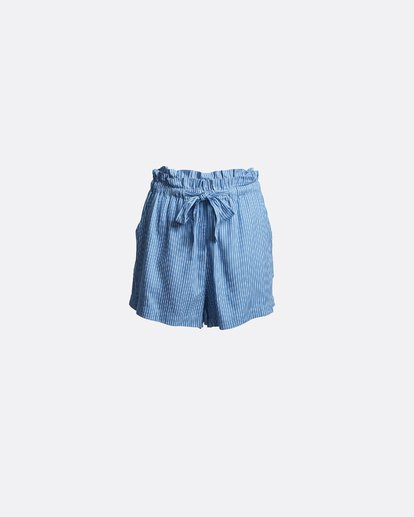 3 Sliding Rock - High Waisted Shorts für Damen Blau S3WK18BIP0 Billabong