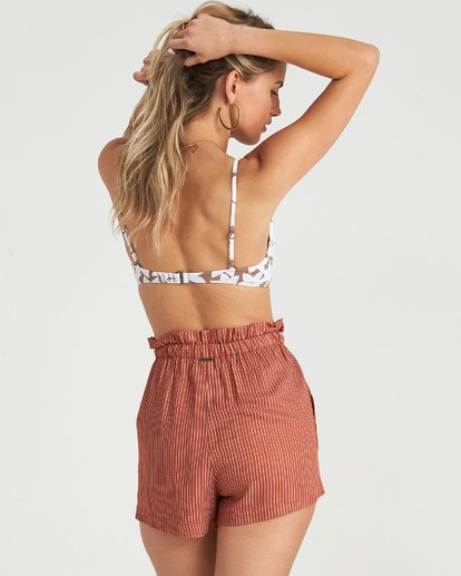 3 Sliding Rock - High Waisted Shorts für Damen Braun S3WK18BIP0 Billabong