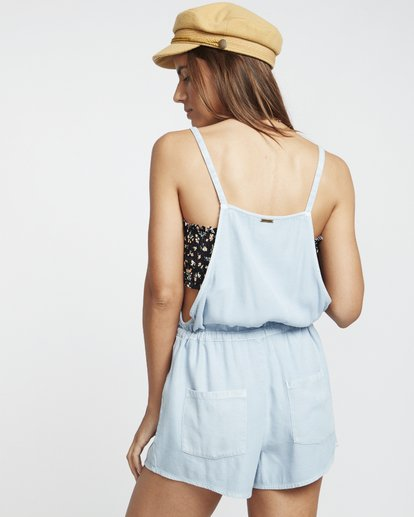 1 Bermuda Playsuit - Short Overalls for Women Blue S3WK19BIP0 Billabong