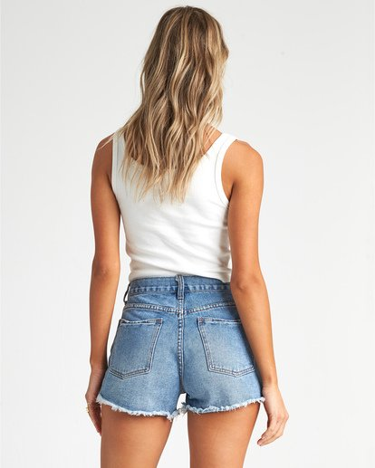 3 Drift Away - Denim Shorts für Damen Blau S3WK24BIP0 Billabong