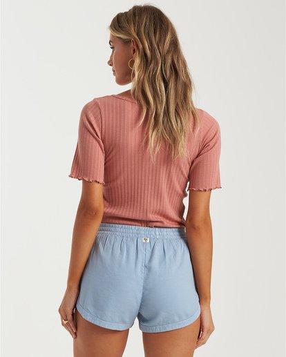 1 Road Trippin - Pantalones cortos de tela para Mujer Azul S3WK26BIP0 Billabong