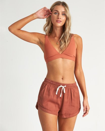 0 Road Trippin - Woven Shorts for Women Brown S3WK26BIP0 Billabong