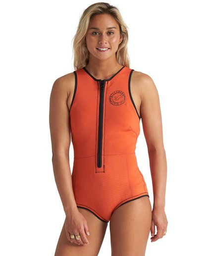 1 1mm Sol Sista - Traje de surf largo sin mangas para Mujer Multicolor S41G60BIP0 Billabong
