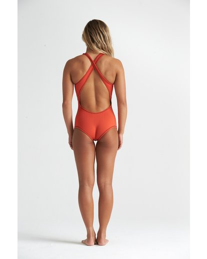 1 1mm Shorty - Traje de surf largo sin mangas para Mujer Multicolor S41G62BIP0 Billabong