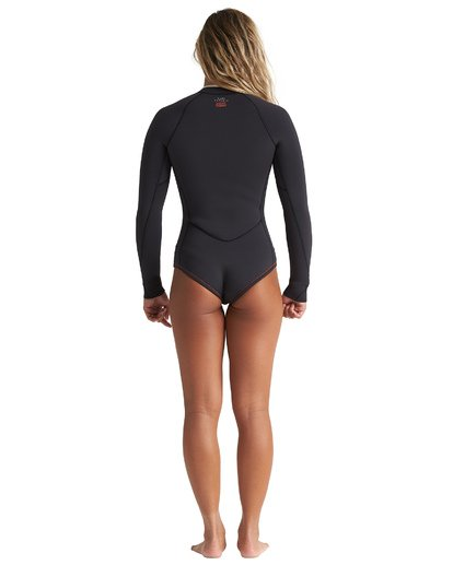 3 2mm Salty Dayz - Traje de surf corto de manga larga para Mujer Multicolor S42G53BIP0 Billabong