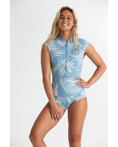 0 1mm Captain - Sleeveless Springsuit for Women Blue S42G56BIP0 Billabong