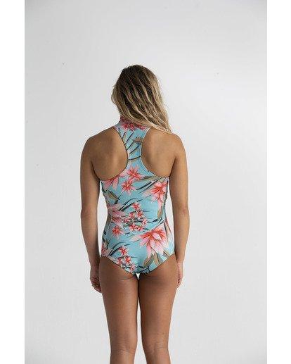 2 1mm Salty Dayz - Traje de surf corto sin mangas para Mujer Azul S42G58BIP0 Billabong