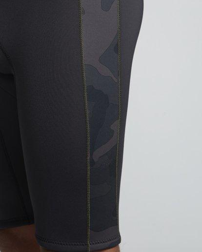 6 2/2mm Revolution - leichter Short John Neoprenanzug für Herren Schwarz S42M61BIP0 Billabong