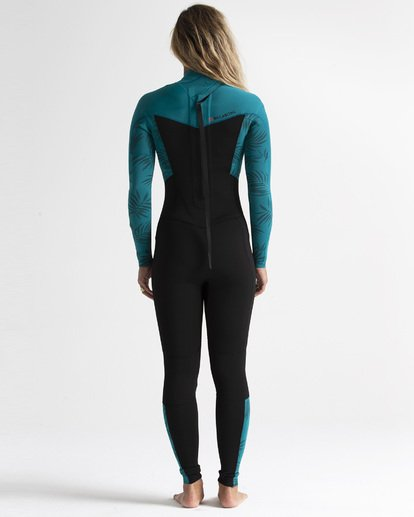 1 3/2mm Furnace Synergy GBS - Back Zip Wetsuit for Women Multicolor S43G53BIP0 Billabong