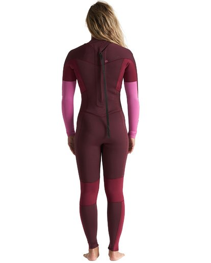 2 3/2mm Synergy FL - Back Zip Wetsuit for Women Red S43G54BIP0 Billabong