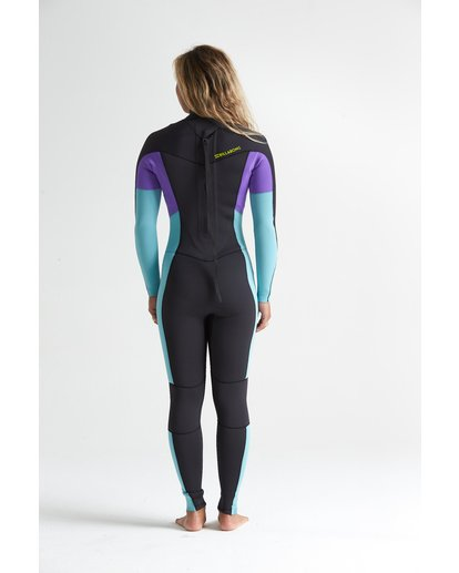 1 3/2mm Synergy FL - Neoprenanzug mit Back-Zip für Damen Blau S43G54BIP0 Billabong