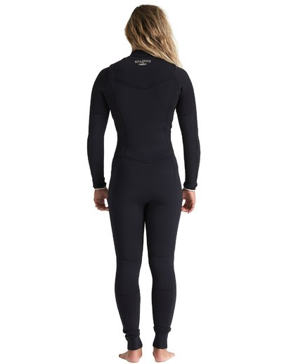 1 4/3mm Salty Dayz - Chest Zip Wetsuit for Women Multicolor S44G50BIP0 Billabong