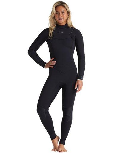 0 4/3mm Salty Dayz - Chest Zip Wetsuit for Women Multicolor S44G50BIP0 Billabong