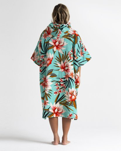 2 Wmns - Toalla con capucha para cambiarse para Mujer Azul S4BR50BIP0 Billabong