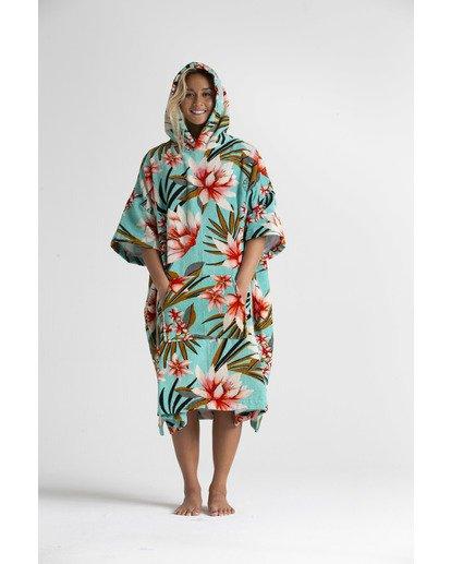 1 Wmns - Toalla con capucha para cambiarse para Mujer Azul S4BR50BIP0 Billabong