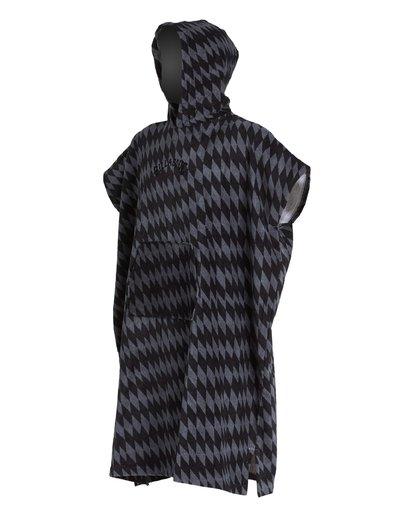 1 Hoodie - großes Badetuch mit Kapuze zum Umziehen für Jungen Grau S4BR70BIP0 Billabong