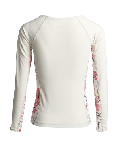 1 FLOWER YOKE LS Weiss S4GY08BIP0 Billabong