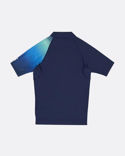 1 Contrast Printed - kurzärmeliges Lycra mit UPF 50 für Jungen Blau S4KY08BIP0 Billabong