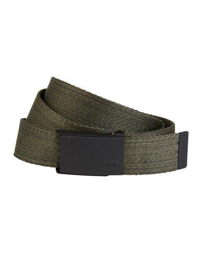 1 Cog - Webbed Belt for Men Green S5BL01BIP0 Billabong