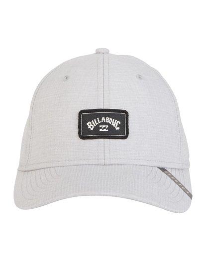 8 Surftrek Stretch - Fitted Hat for Men Grey S5CF01BIP0 Billabong