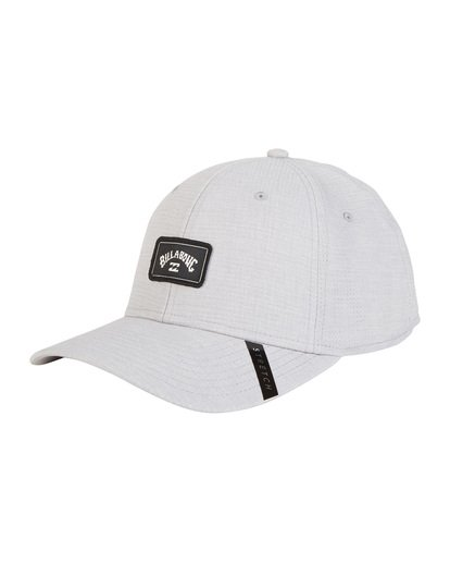 6 Surftrek Stretch - Fitted Hat for Men Grey S5CF01BIP0 Billabong
