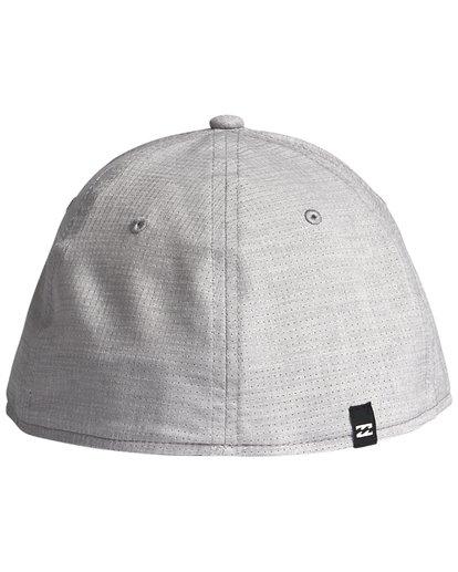 4 Surftrek Stretch - Fitted Hat for Men Grey S5CF01BIP0 Billabong