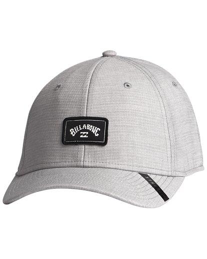 5 Surftrek Stretch - Fitted Hat for Men Grey S5CF01BIP0 Billabong