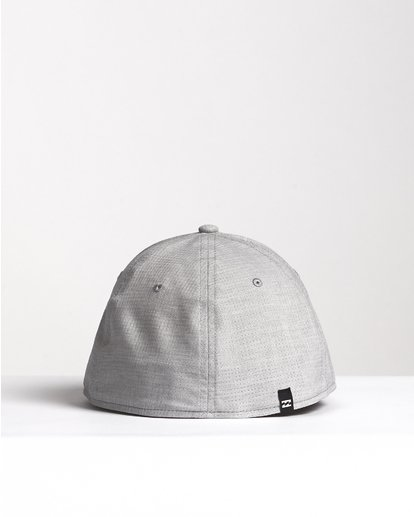 1 Surftrek Stretch - Fitted Hat for Men Grey S5CF01BIP0 Billabong